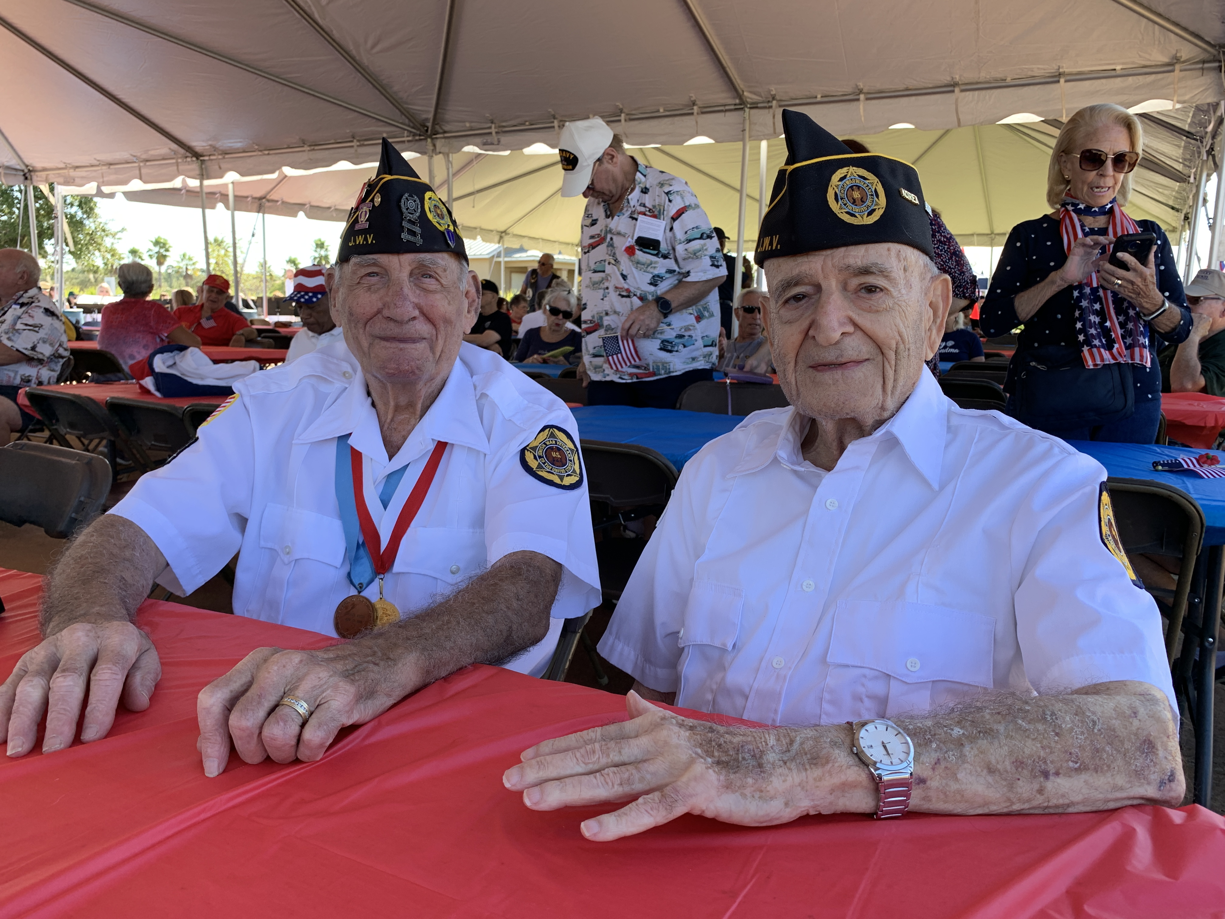 Participants at Palm Coast Veterans Day Barbecue