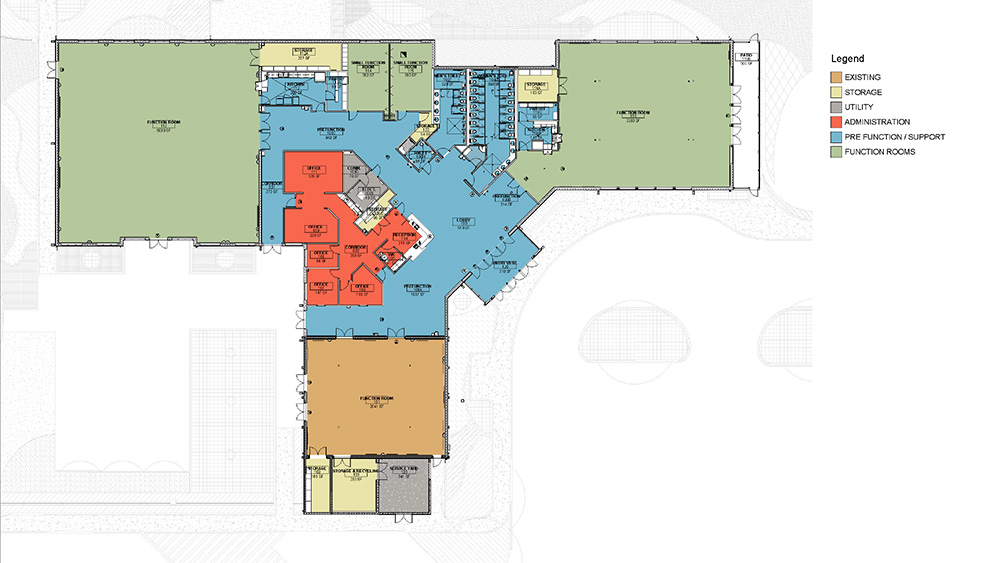 Community Center Floor Plans