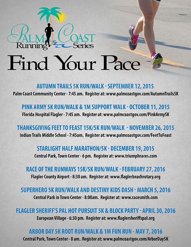 Running Series Flyer