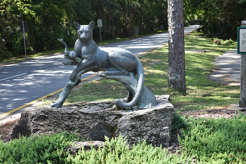 panther sculpture