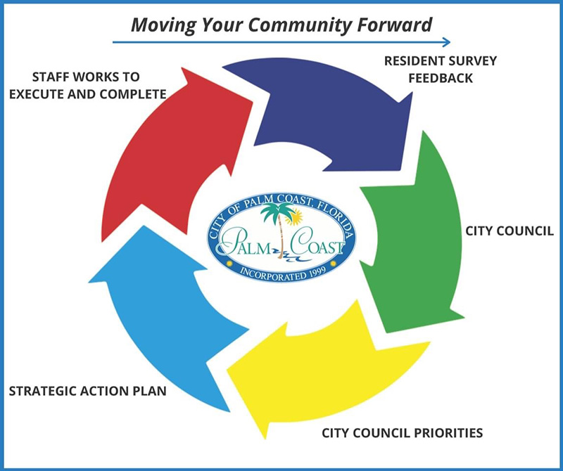 strategic action plan information graphic