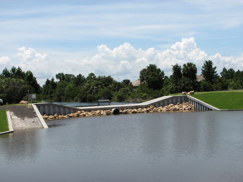 I-1 West (Part of Three Sisters Surface Water Control Complex)