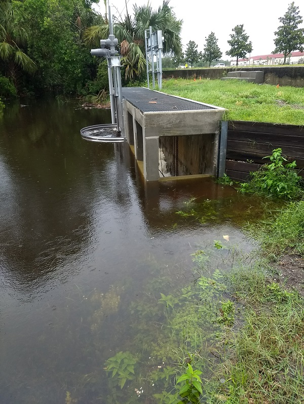 W-1 Surface Water Control Structure
