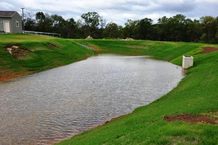 Stormwater faqs city of palm coast florida for Design of stormwater detention ponds